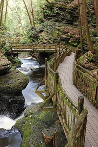 Bushkill Falls Walkways