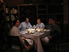 Enjoying a nice dinner at Astrid & Gastón