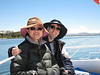 Boat ride to Uros Islands