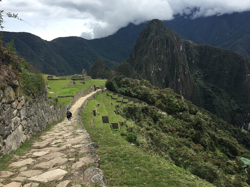 Machu Picchu - Trail to the Sun Gate