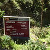 The Urquillos Inca Trail. (This is not an actual Inca sign. You can tell because Incas were much more carerful about kerning.)