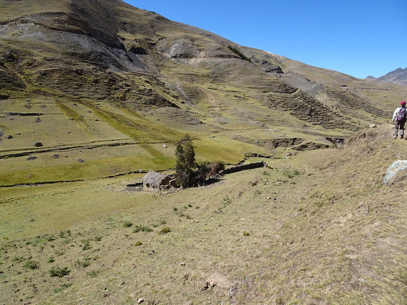On the hike from Ancasmarca to Totora