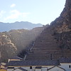Evening light at Ollantaytambo