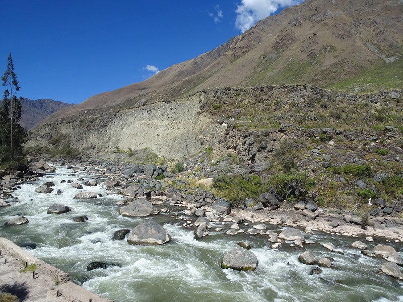 The Urubamba River, taken from the train