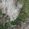 Approaching the Inka Drawbridge