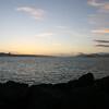Golden Gate Bridge and Alcatraz from treasure island