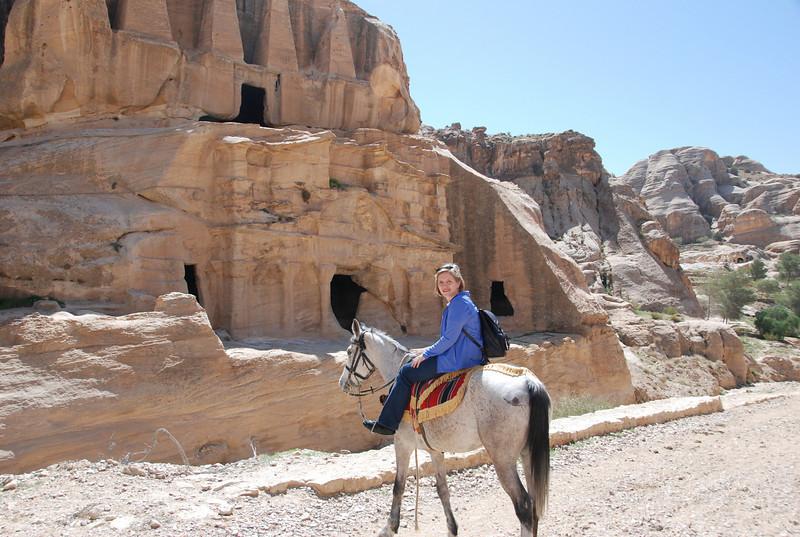 DSC_0389 Bab Al Siq (tombs) Local Transportation Kim