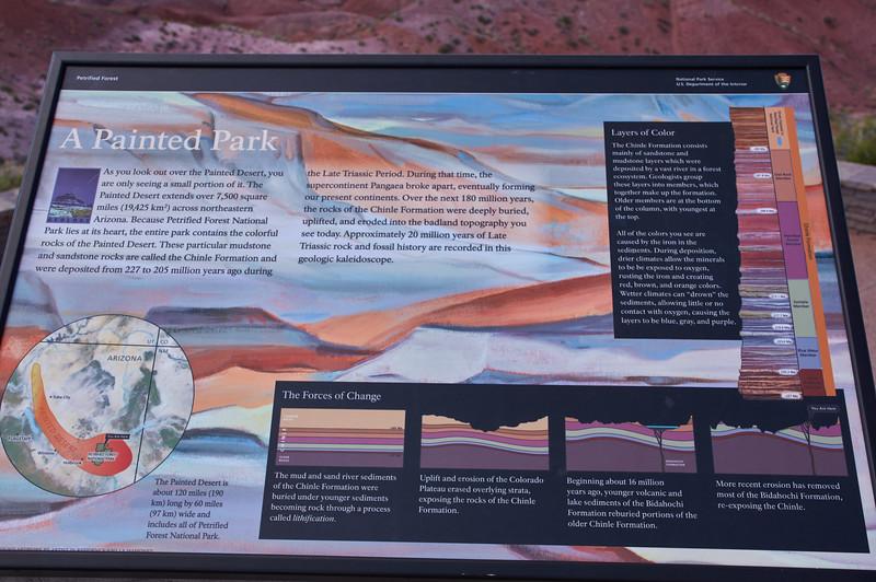 Descriptive Sign of the Park