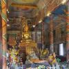 Inside the Wat Phnom,  Phmon  Penh, Cambodia