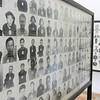 Some of the many photos of those killed by the Khmer Rouge at the Tuol Sleng prison and torture house. Phnom Penh