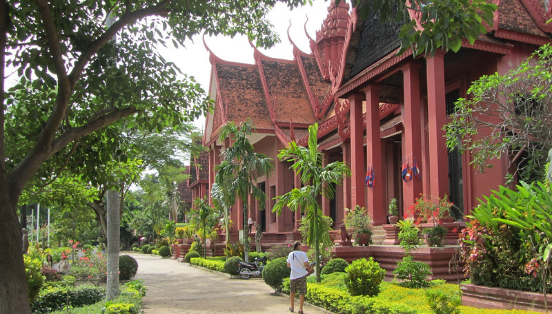 The National Museum in Phnom Penh.