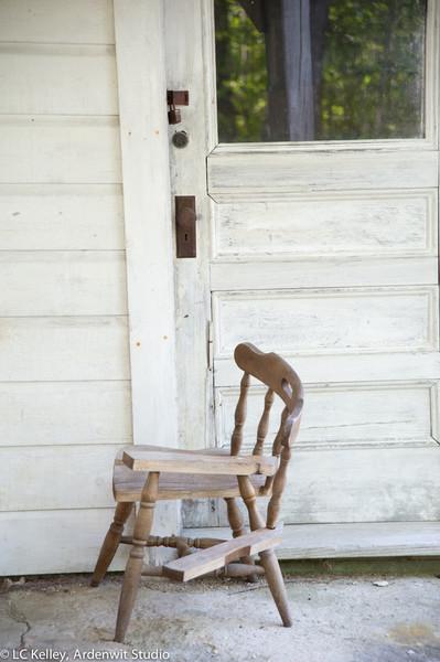 Seat sawed?