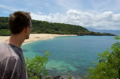 Overlooking Waimea Bay - North Shore
