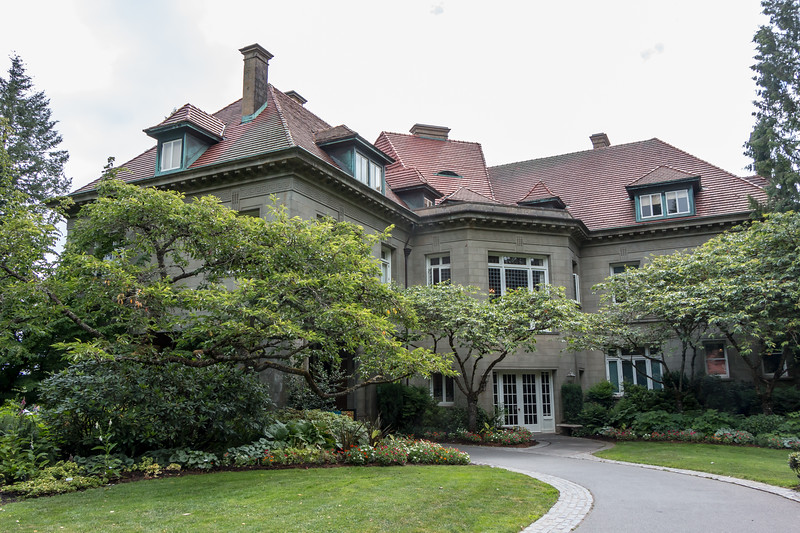 Pittock Family Mansion, publisher of Portland's oldest newspaper