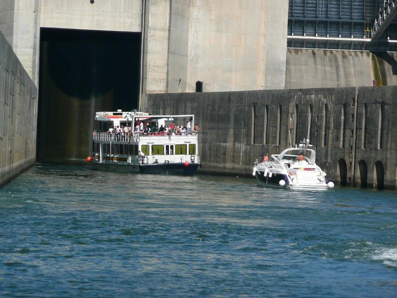 Lock on Douro River 04, Portugal