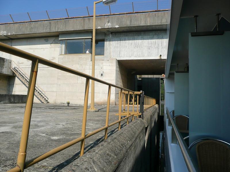 Lock on Douro River 08, Portugal