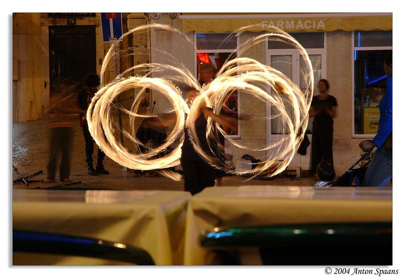 Lisboa<br/>Street fire artists