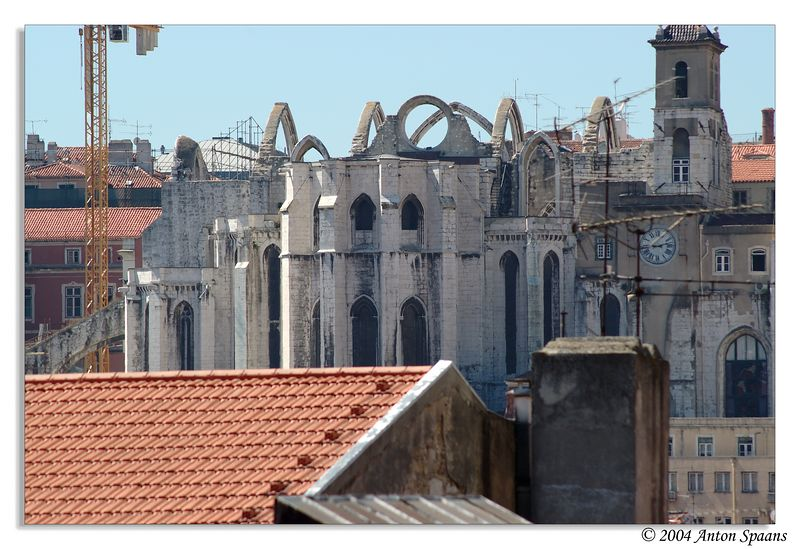 From balcony at suite of Hotel Mundial Lisboa