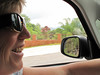 Ginger's happy about driving in PR!