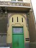 Nice green door and pretty mosiac tiles in Old San Juan.