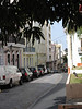 Here's a view of Old San Juan where you can see part of the old cobble street.