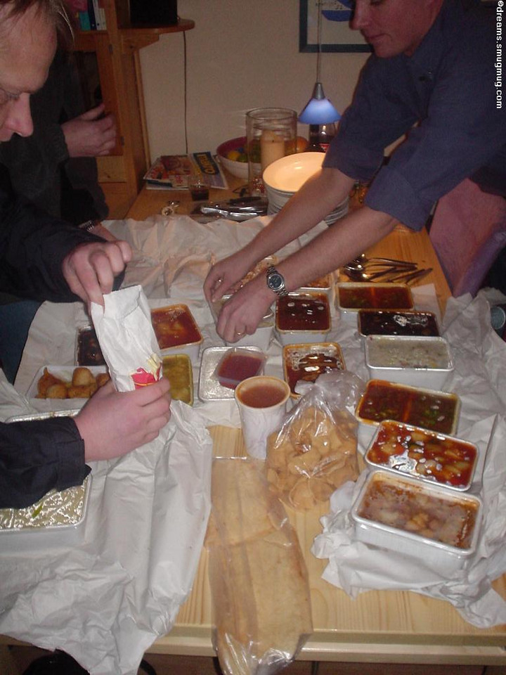 Chinese for 15-odd starving mouths, the before shot