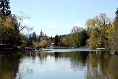 At the park in Bend OR.