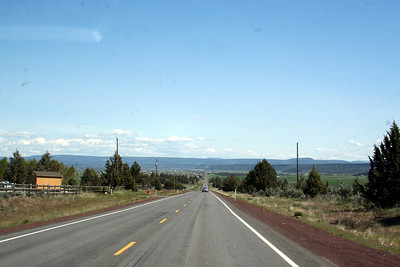 We made it to Prineville.  The town at the bottom of the hill is Prinevielle, OR.