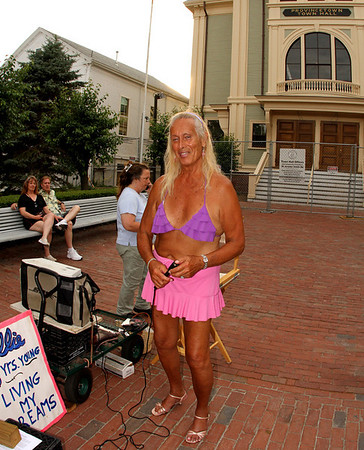 """Ellie, """"78 Yrs. Young, Living My Dreams"""" at the Town Hall"""