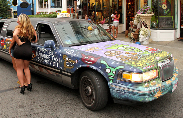 The Funk Mobile-Karaoke Taxi