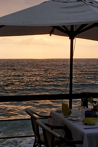 Sunset at the Seaside Grill, Dreams Vallarta