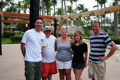 our friends from Canada. We met these people the previous year at a different resort. Incredible coincidence to run into them a year later