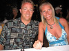 My wife Raychel and I waiting on dinner while vacationing in Punta Cana Dominican Republic.