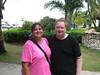 Dave and Cathy at Punta Cana Airport