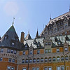 "Fairmont Le Chateau Frontenac, the oldest ""castle""/hotel in Quebec City - designated a National Historic Site of Canada in 1980."