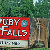 "Motorists travelling on  I-75 in the 70's were subjected to dozens - maybe hundreds - of billboards along their route with the words ""SEE RUBY FALLS"" beginning hundreds of miles north and south of the falls itself."