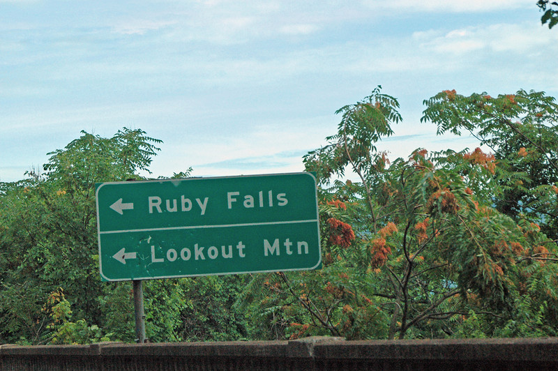 The cave which houses Ruby Falls was formed with the formation of Lookout Mountain.