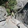 Climbing Hospital Rock
