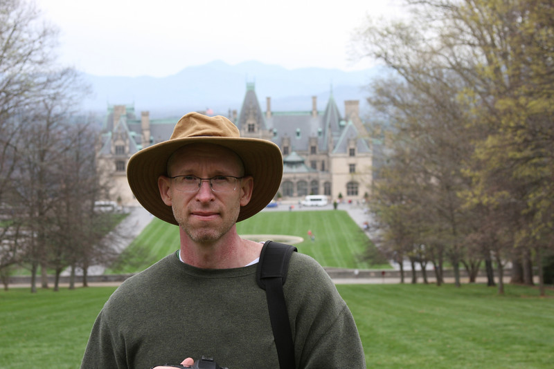 Mark in front of the Biltmore