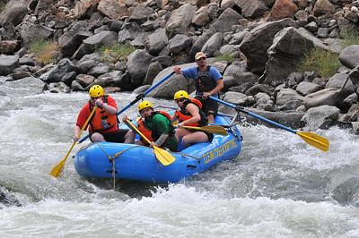 Rafting Trip 2012 - Me, Jess, Mike