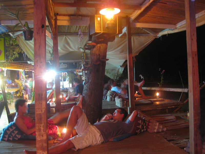 Joy's Cocktail Bar in Railay Beach, Thailand