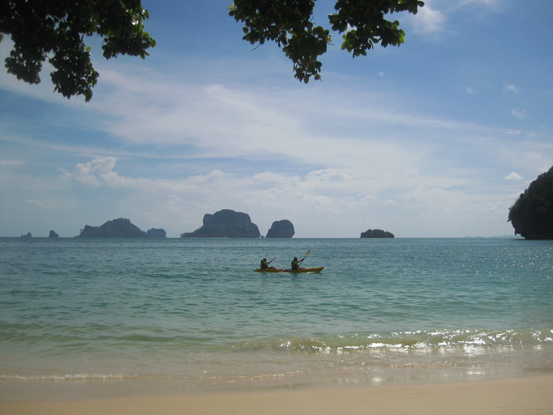 Sun and sea kayaking