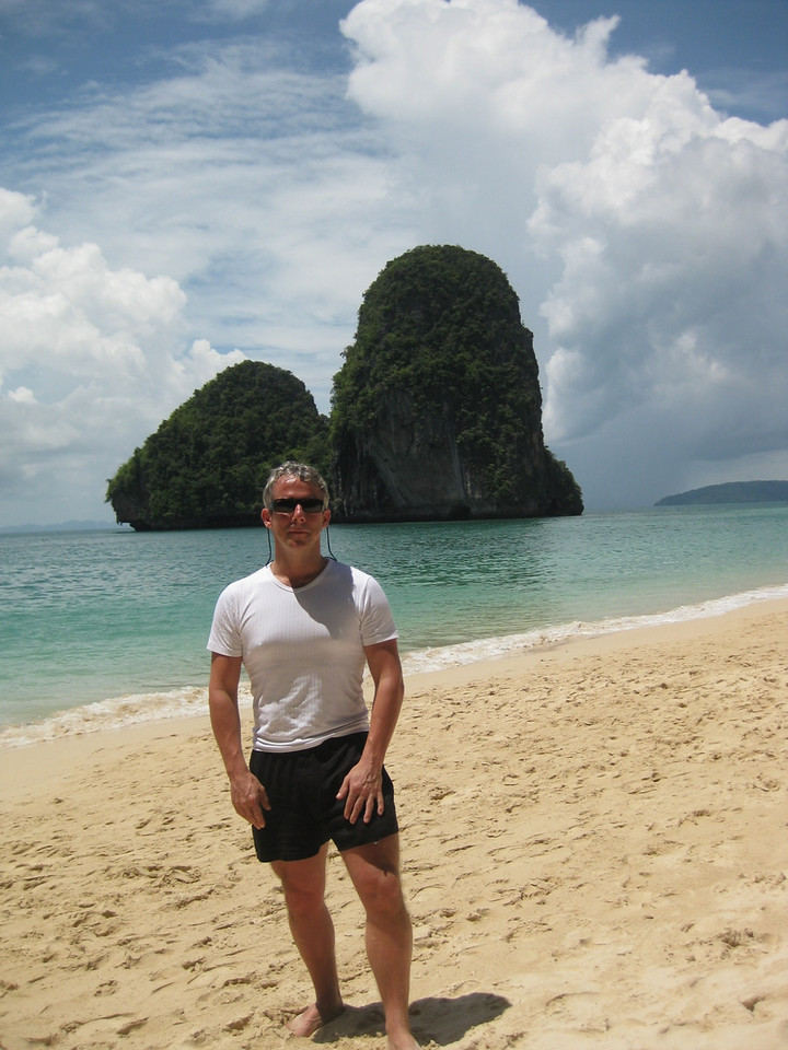 Me on the beach at Railay