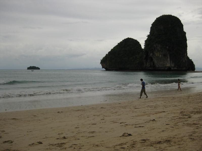 Beach on the South West tip of Railay