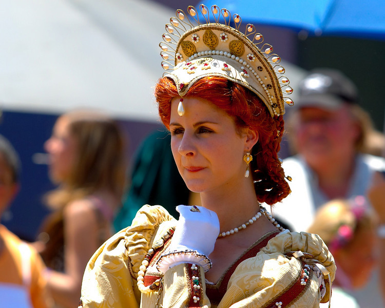 "The ""Queen"" of the Faire."