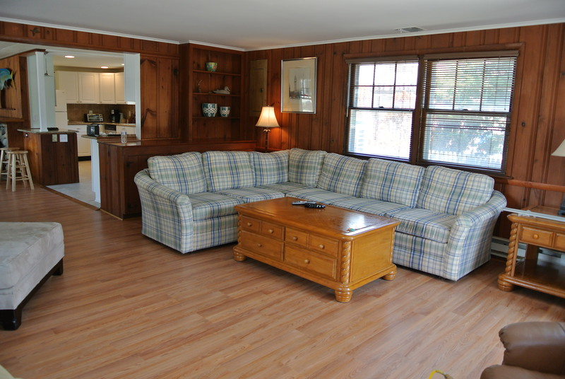 New Living Room Furnishings and Flat Screen TV