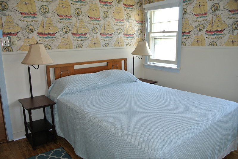 First of 2 bedrooms on first floor