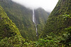 Waterfall, cirque of Salazie
