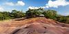 Chamarel colored earth, Mauritius