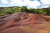 Chamarel colored earth